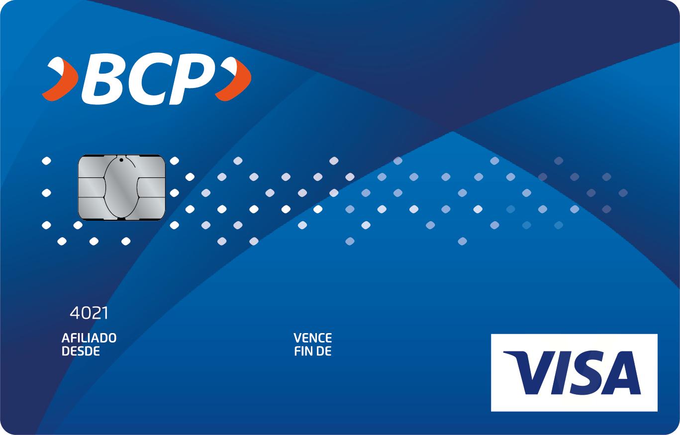 Tarjeta de Crédito Visa BCP Clásica | Banca Personas | BCP